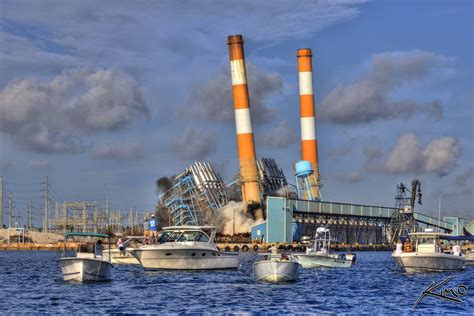 fpl florida power light fpl power plant smokestack explosion