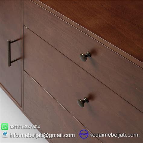 Buffet Nakas Bufet Meja Tv Retro Laci Kayu Jati Furniture Jepara 3 jual bufet tv vintage minimalis bahan kayu jati solid harga murah saja