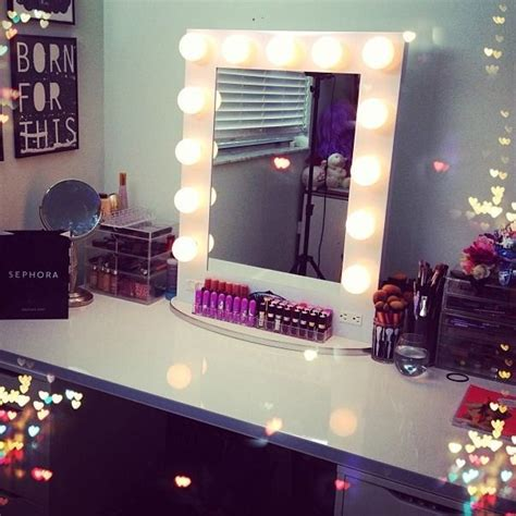 Vanity Makeup Table With Lights by Broadway Lighted Table Top Vanity Mirror From Vanity