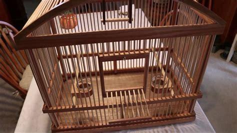 Custom Bird Cage custom wooden bird cage