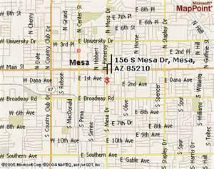 Map Of Mesa Arizona by Mesa Arizona Map Related Keywords Amp Suggestions Mesa