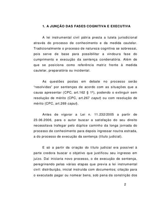 artigo 854 2 e 3 do cpc rkl artigo lei 11 232 comentada