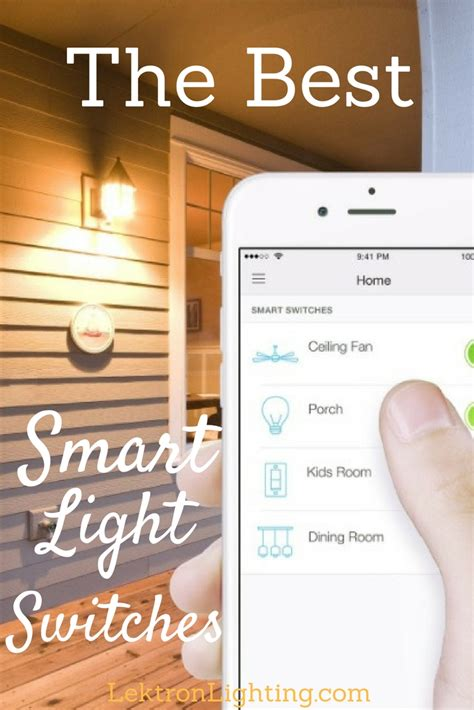 dimmable smart light switch best smart light switch dimmers lektron lighting