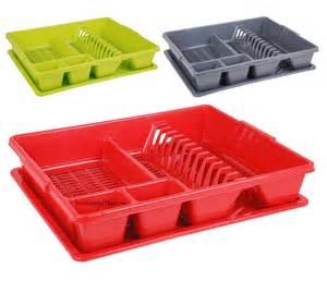 Kitchen Sink Drainer Trays Plastic Large Dish Drainer Drip Tray Cutlery Kitchen Sink Rack Holder Ebay