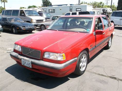 car owners manuals for sale 1996 volvo 850 seat position control buy used volvo 850r 1996 rare in sacramento california united states for us 3 200 00