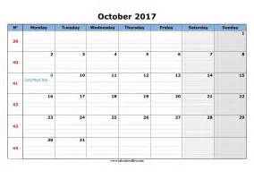 Calendã De Outubro 2017 October 2017 Calendar Printable Printable Calendar Office