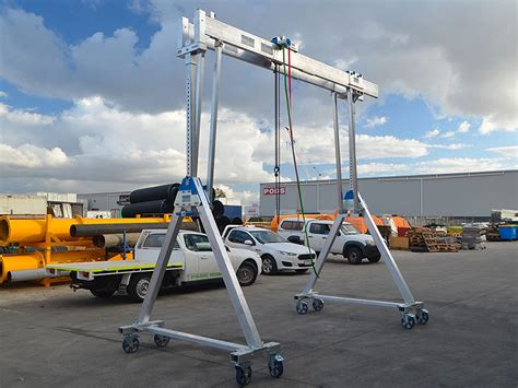gantry crane schilling 3 tonne hire melbourne