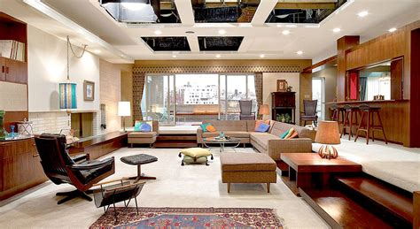 layout of don draper s house behind the scenes photos reveal the secrets of mad men sets