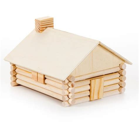 Log Cabin Craft Kits by Classical Conversations Cycle 3 Practical Family