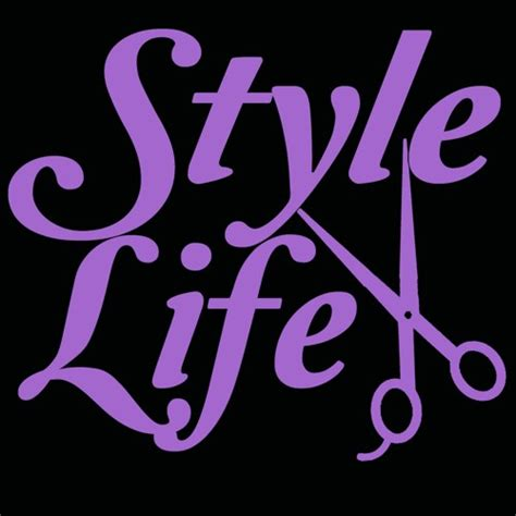 Lime Green Home Decor style life vinyl decal hair stylist scissors cosmetology