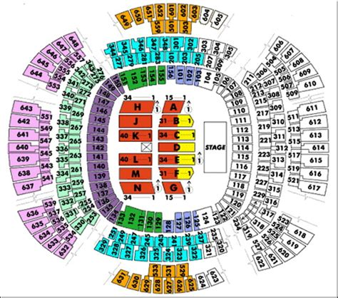 Mercedes Superdome Map Superdome Seating Chart