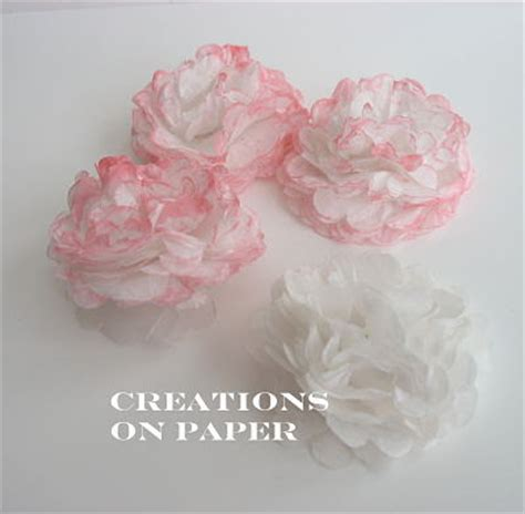 tutorial tissue paper flower creations on paper tissue paper flowers tutorial
