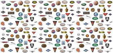 Wash With Like Colors Symbol - sports car logos