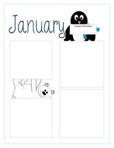 january newsletter template preschool winter newsletter template teaching ideas