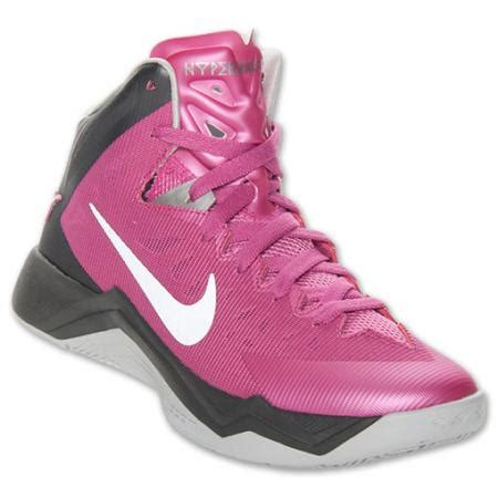 womens nike hyper quickness basketball shoes new womens nike zoom hyper quickness think pink breast