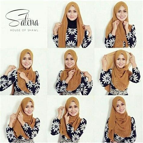 tutorial pashmina double 17 best images about hijab tutorial on pinterest