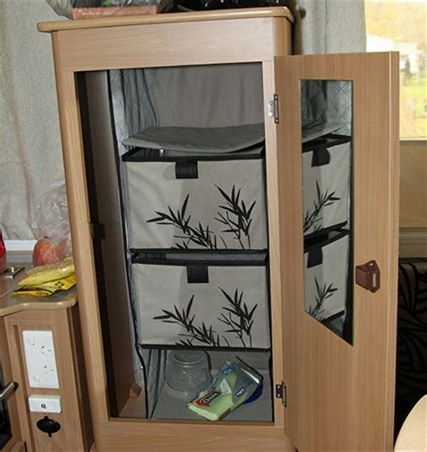 Cing Wardrobes And Storage by Best 25 Caravan Storage Ideas 28 Images Organise Your