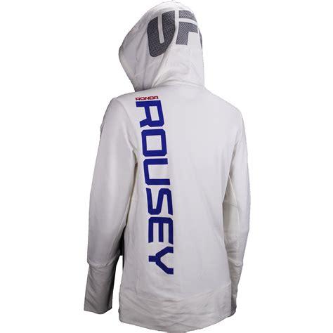 Hoodie Ufc Zemba Clothing reebok womens ufc ronda rousey walkout hoodie ebay
