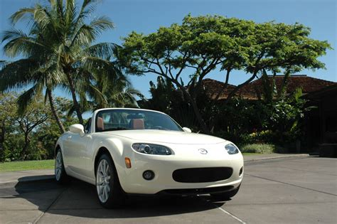 Special Edition Prewalker White Marble mazda mx 5 production information