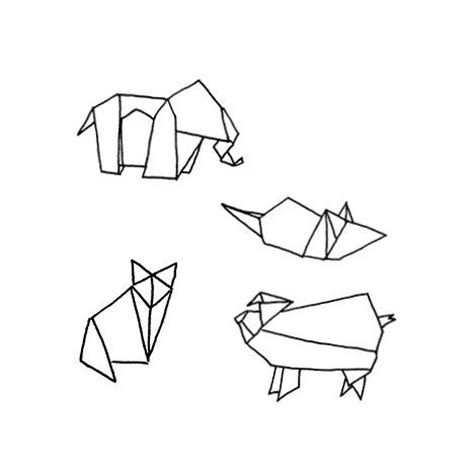 tattoo animal origami 22 best images about tattoo inspiration on pinterest