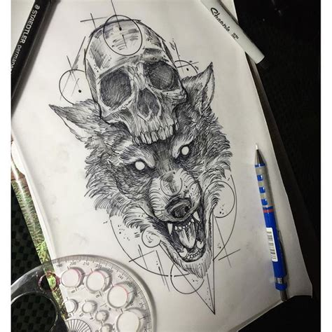 wolf skull tattoo best 25 wolf skull ideas on skull mask