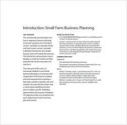 small farm business plan template farm business plan template 13 free word excel pdf
