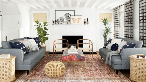 dream home ideas mid century boho perfection modsy blog