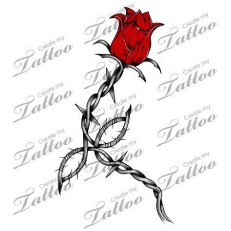 tattoo try online watch online free rose barb wire tattoo designs