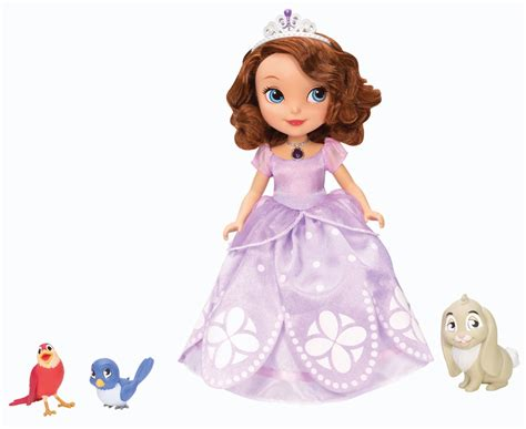 sofia the first disney doll amazon disney sofia the first talking sofia animal