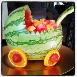watermelon baby shower fruit salad baby shower