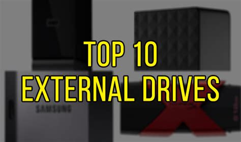 top 10 external drives to use with the ps4 perezstart