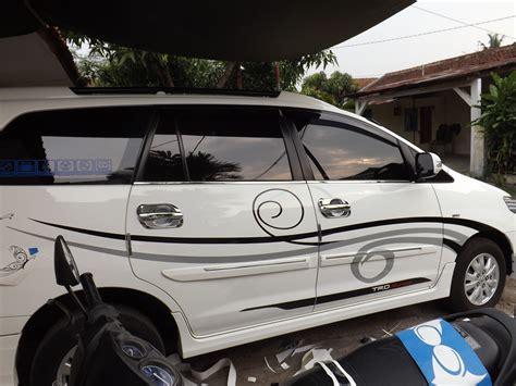 Harga Stiker Mobil by 93 Modifikasi Striping Mobil Avanza 2018 Modifikasi Mobil