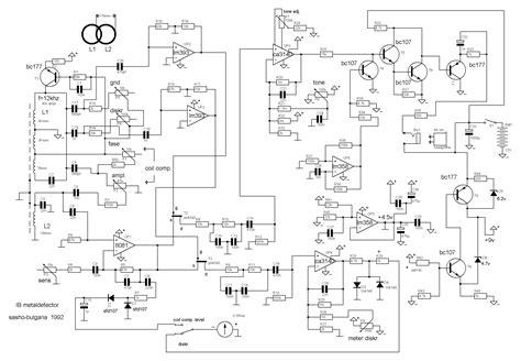 metal detector circuit diagram metal detector circuit sensors detectors circuits next gr