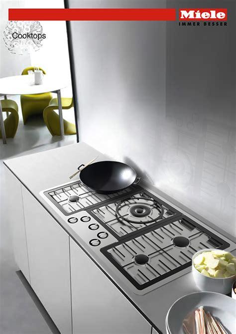 miele interactive gas cooktop  behance
