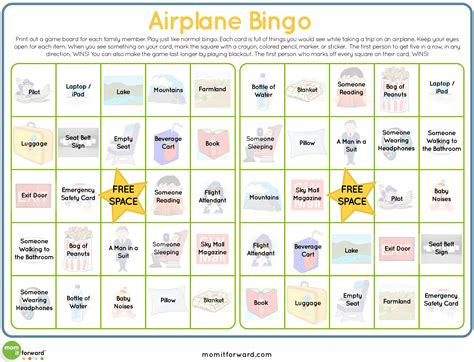 printable games to play on a plane are we there yet
