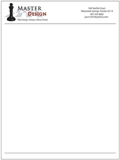Business Name Letterhead 25 Best Ideas About Letterhead Exles On Exles Of Letterheads Corporate