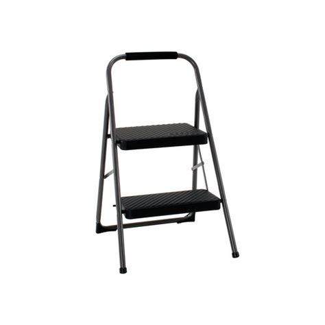 Cosco Folding Stool by Cosco Folding Steel Step Stool 2 Step Ladder Support