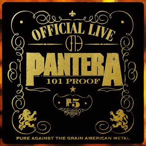 Cd The Panturas official live 101 proof pantera listen and discover at last fm
