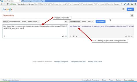 translator indonesia inggris cara menerjemahkan web bahasa asing menggunakan translate jeripurba