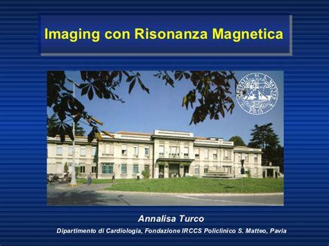 risonanza magnetica pavia imaging con rmn cteph