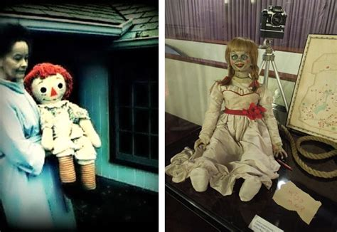 annabelle doll actual image