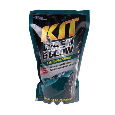 Kit Wash N Glow 800ml jual kit wash glow pouch car shoo cairan pembersih mobil 800 ml harga kualitas