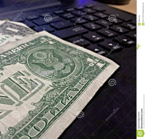 Money Making Machine Online - turn your computer into a money making machine stock photo image 45021525