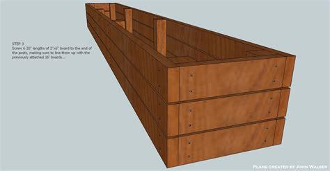woodwork plans deck storage bench  plans