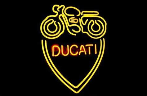 old school neon tattoo sign business custom neon sign board for italian ducati classic
