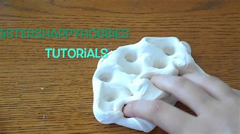 tutorial slime activator clay slime without glue or activator youtube