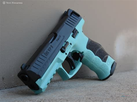 stiker kompr hk blue hanya55ribu x werks h k vp9 blue 9mm no cc fee hk vp 9
