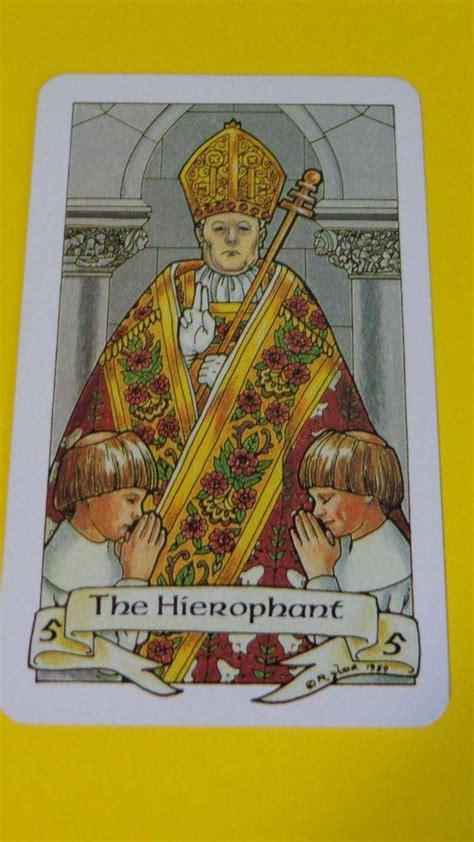 personal year   hierophant wisdom healing tarot