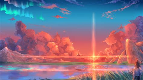 wallpaper android landscape free anime fantasy landscape wallpapers for android at