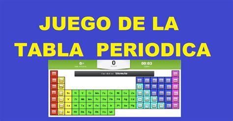 preguntas faciles sobre la tabla periodica juego de la tabla periodica interactiva aprender jugando